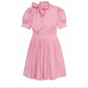 Gal Meets Glam Pink Poplin Puff Sleeve Dress